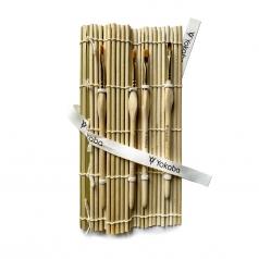 Etui bambusowe na pędzelki